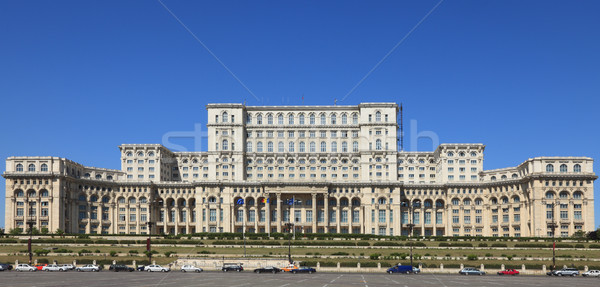 The Palace of the Parliament ,Bucharest,Romania Stock photo © RazvanPhotography