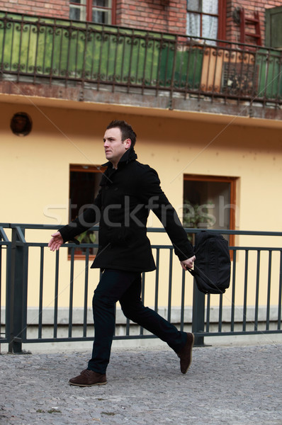 Man in a hurry Stock photo © RazvanPhotography