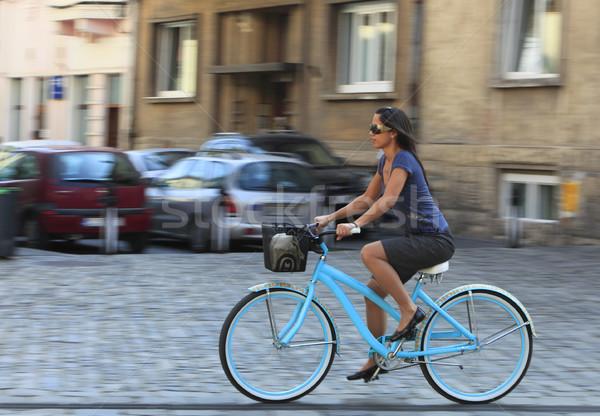 Urban Bicycle Ride Stock photo © RazvanPhotography