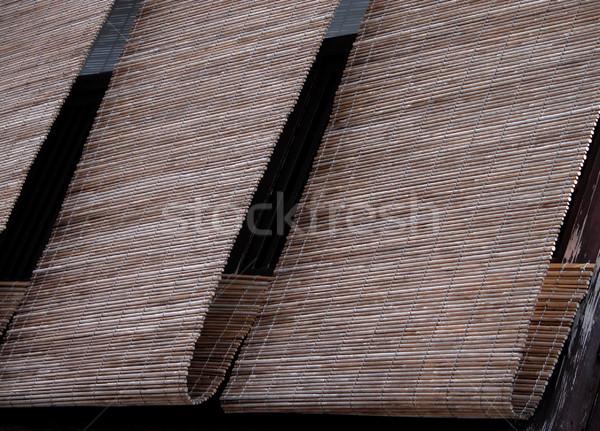 Gion Bamboo Blinds Stock photo © RazvanPhotography
