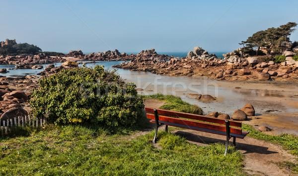 Lanscape in Brittany Stock photo © RazvanPhotography