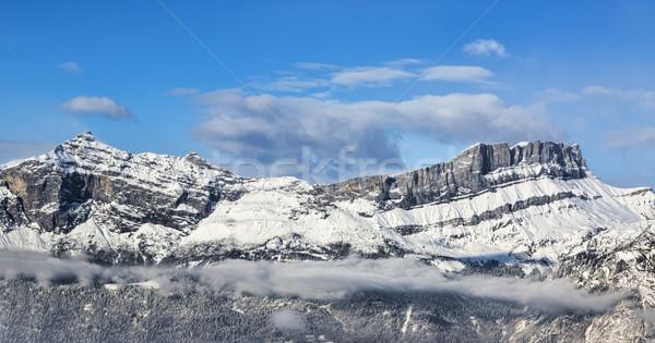 Alpine Crest in Winter Stock photo © RazvanPhotography