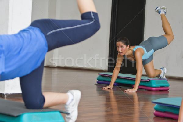 Aerobics action Stock photo © RazvanPhotography