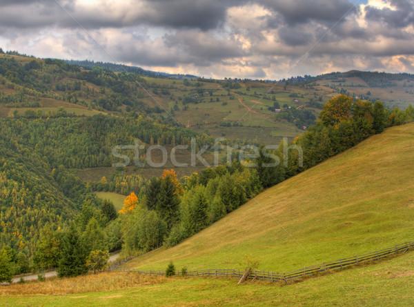 Autumn landscape Stock photo © RazvanPhotography
