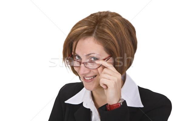 Woman with glasses Stock photo © RazvanPhotography