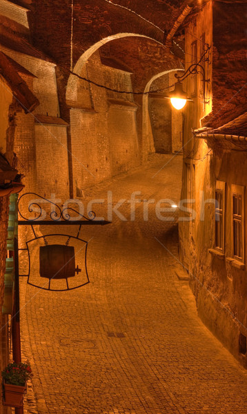 Steps passage-Sibiu,Romania Stock photo © RazvanPhotography