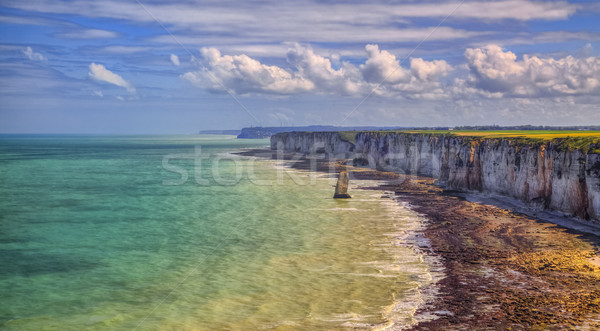 Coastline in Normandy Stock photo © RazvanPhotography