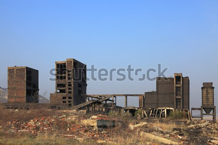 Industrial ruinas Rumania lugar uno Foto stock © RazvanPhotography