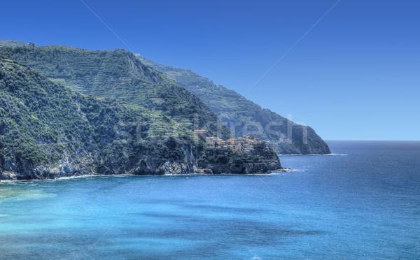 Italian Riviera in Cinque Terre National Park Stock photo © RazvanPhotography