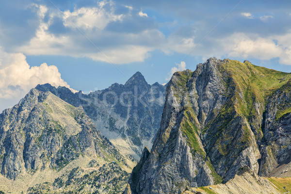 Peaks in Pyrenees Mountains Stock photo © RazvanPhotography