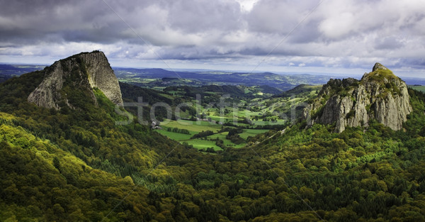 Landscape in the Central Massif in France Stock photo © RazvanPhotography