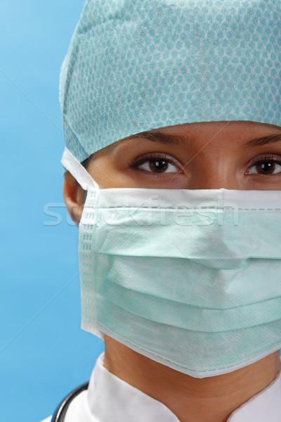 Stock photo: Female surgeon