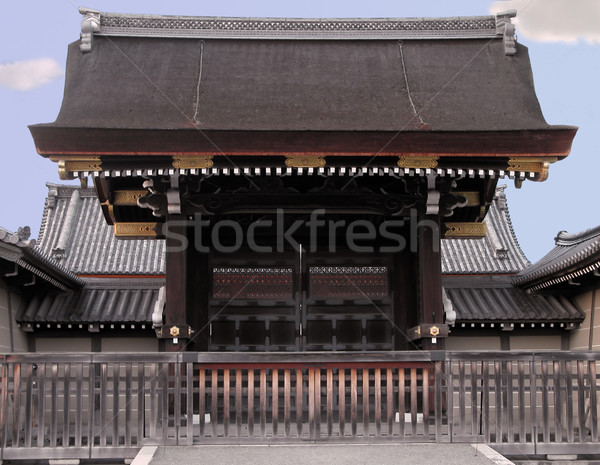 Stock photo: Imperial gate