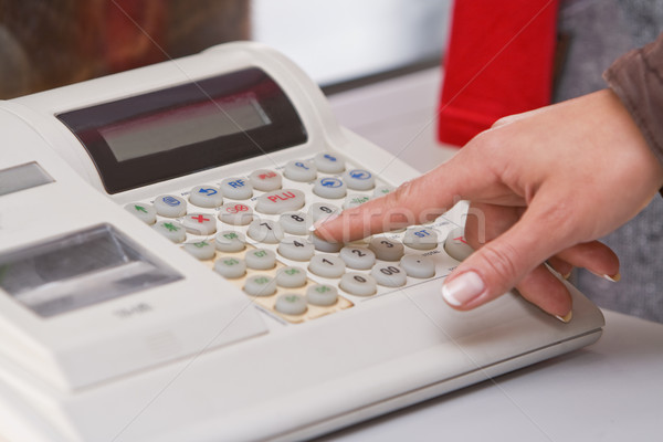 Electronic cash register  Stock photo © RazvanPhotography
