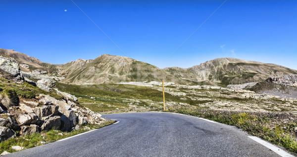 élevé altitude route la France Photo stock © RazvanPhotography