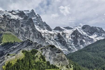 élevé altitude paysage alpes vue la Photo stock © RazvanPhotography