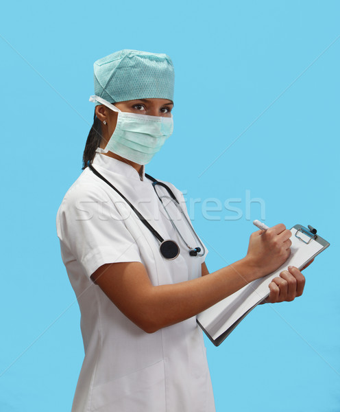 Young woman doctor Stock photo © RazvanPhotography