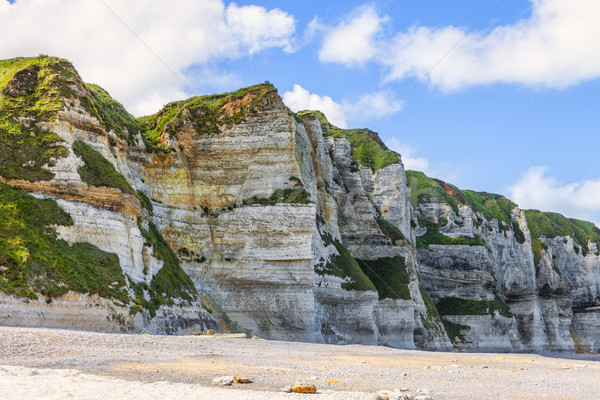Coastal Rocky Wall in Normandy Stock photo © RazvanPhotography