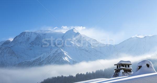 Winter Holiday Abstract Stock photo © RazvanPhotography