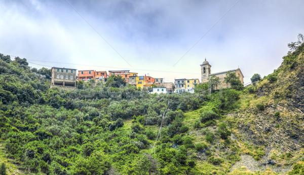 Bernadino Village - Cinque Terre- Italy Stock photo © RazvanPhotography