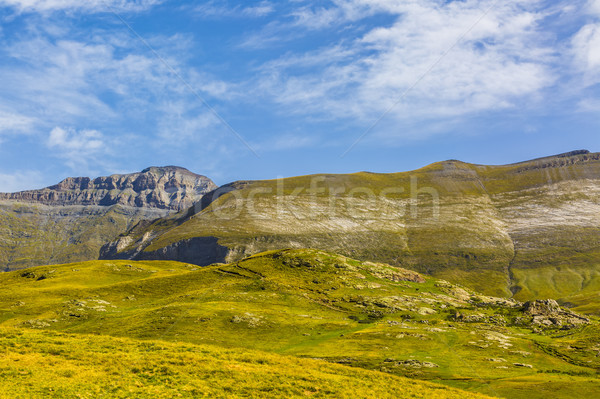 The Circus of Troumouse - Pyrenees Mountains Stock photo © RazvanPhotography