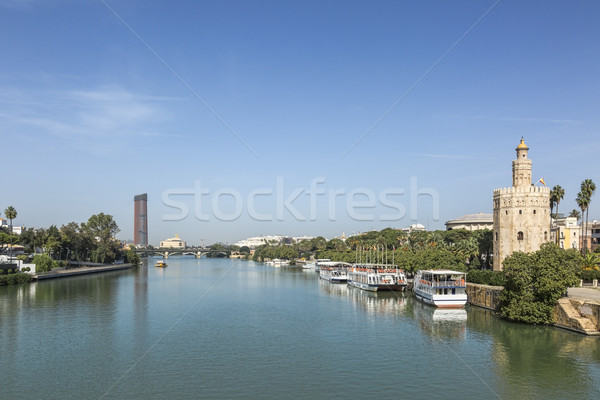 Guadalquivir River, Seville, Spain Stock photo © RazvanPhotography