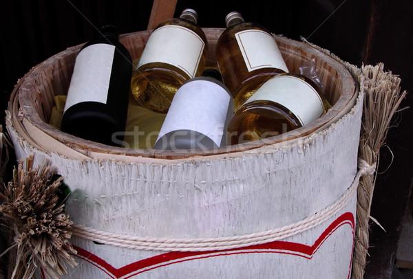 Sake bottles Stock photo © RazvanPhotography