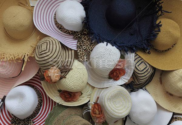 Summer hats Stock photo © RazvanPhotography