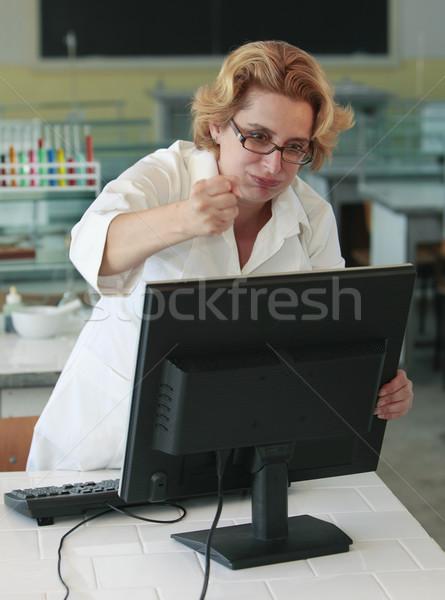 Computer frustration Stock photo © RazvanPhotography