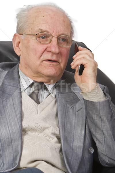 Phone reaction Stock photo © RazvanPhotography
