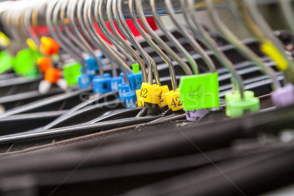 Hangers in a Clothes Shop Stock photo © RazvanPhotography