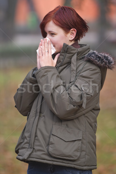 Flu season Stock photo © RazvanPhotography