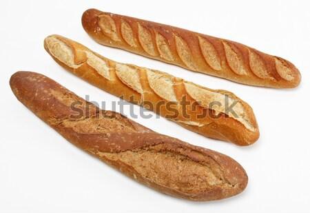 Three French baguettes Stock photo © RazvanPhotography