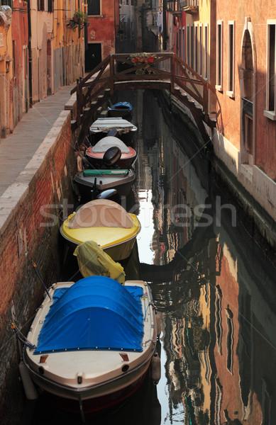 Venetian canal Stock photo © RazvanPhotography