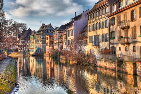 Reflections in Strasbourg Stock photo © RazvanPhotography