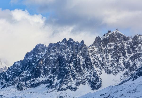 Plano inverno imagem neve fundo beleza Foto stock © RazvanPhotography