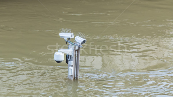 River Seine Flooding in Paris Stock photo © RazvanPhotography