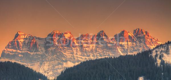 Dents du Midi Stock photo © RazvanPhotography