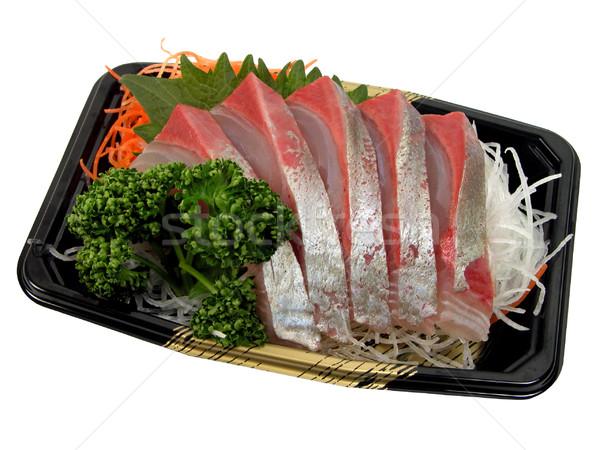 Sashimi greggio pesce japanese bianco Foto d'archivio © RazvanPhotography