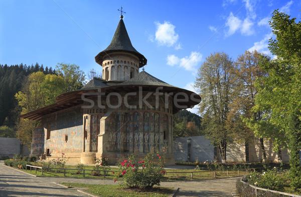 Voronet Monastery,Moldavia,Romania Stock photo © RazvanPhotography