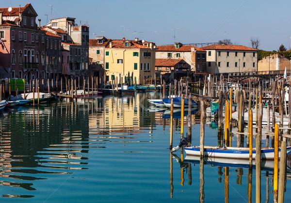 Small Port in Venice Stock photo © RazvanPhotography