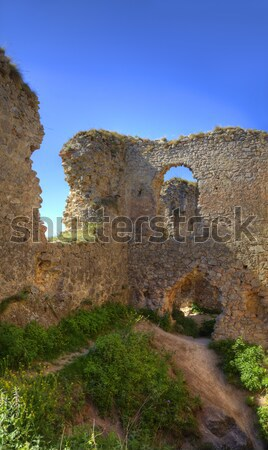 Medieval fortress Stock photo © RazvanPhotography