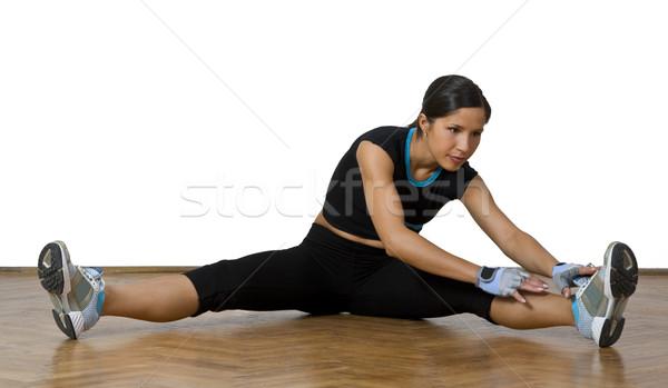 Stretching movements Stock photo © RazvanPhotography