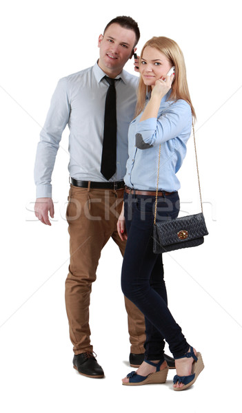 Stock photo: Communication