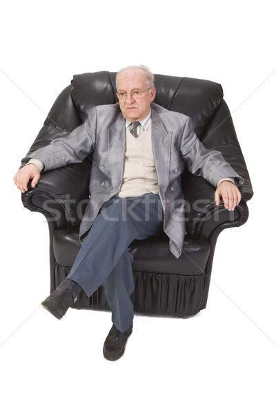 Senior man sitting Stock photo © RazvanPhotography