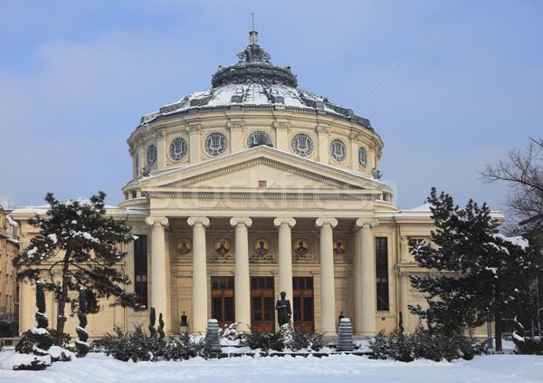 румынский изображение зима Бухарест важный концерта Сток-фото © RazvanPhotography
