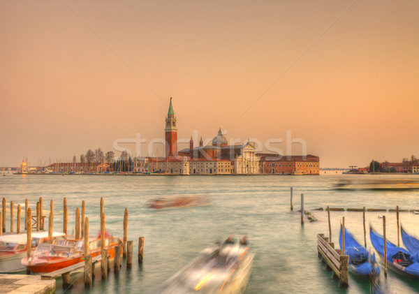 Venetian sunset Stock photo © RazvanPhotography