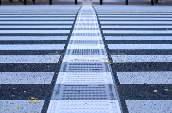 Pdestrian crossing abstract Stock photo © RazvanPhotography