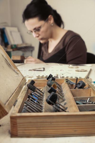 Jeweler's Tools Box Stock photo © RazvanPhotography