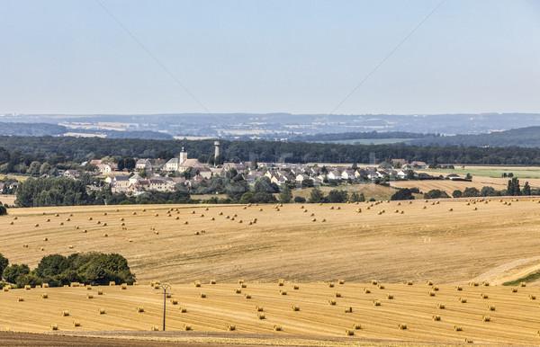 Paisagem região França belo verão campos Foto stock © RazvanPhotography